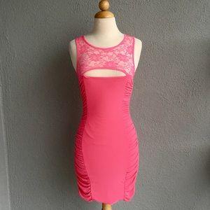 🆕 ARDEN B. Hot Pink Bodycon Dress Size XS. NWT.